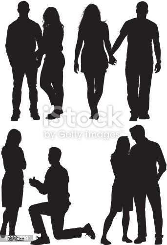 Multiple silhouettes of a couplehttp://www.twodozendesign.info/i/1.png