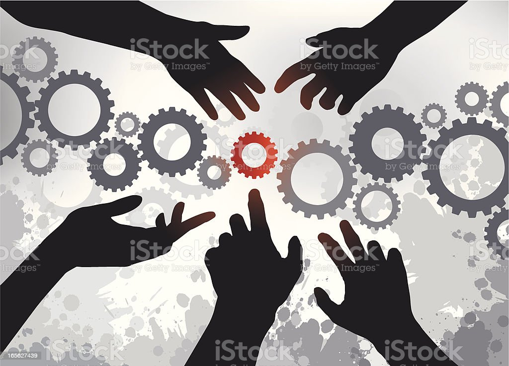 Multiple Solutions royalty-free stock vector art