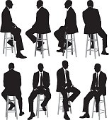 Multiple views of businessman sitting on stoolhttp://www.twodozendesign.info/i/1.png