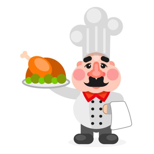 ilustraciones, imágenes clip art, dibujos animados e iconos de stock de cocinero de chef afroamericano multitarea. - busy restaurant kitchen