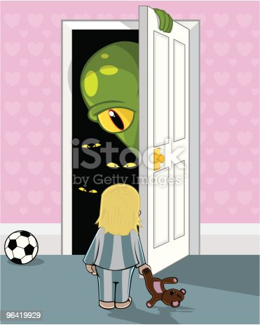 istock Mummy, there's a monster in my cupboard 96419929