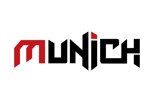 Munich typography design vector, for t-shirt, poster and other uses