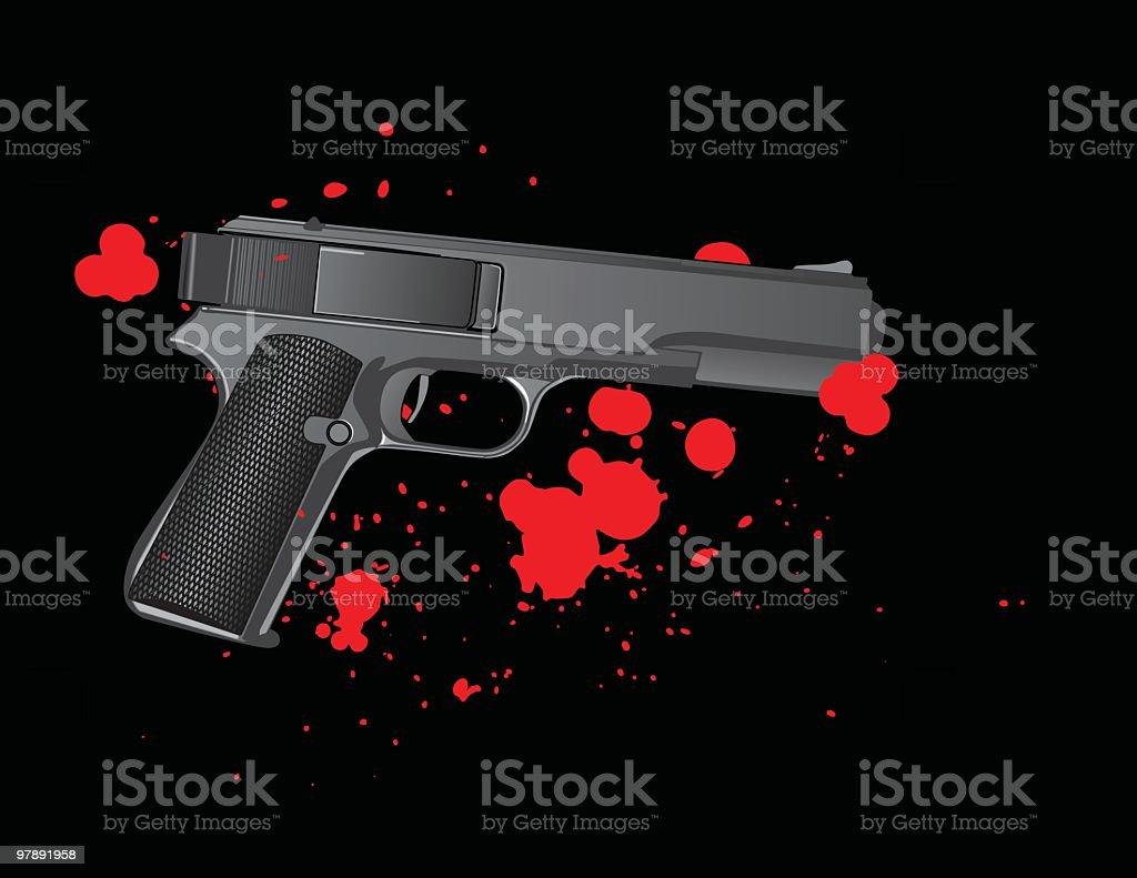 Murder in the dark royalty-free murder in the dark stock vector art & more images of black background