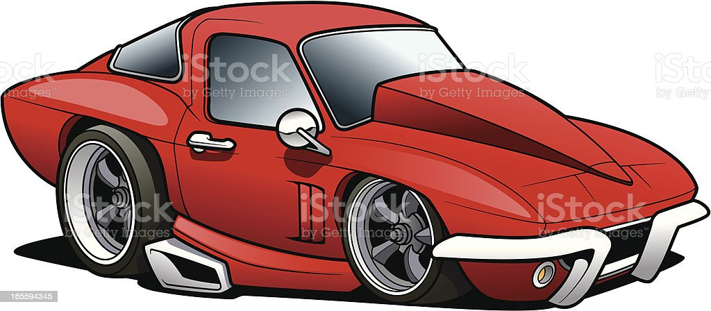 Muscle Car royalty-free muscle car stock vector art & more images of car