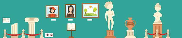 museum.illustration - 美術館点のイラスト素材/クリップアート素材/マンガ素材/アイコン素材