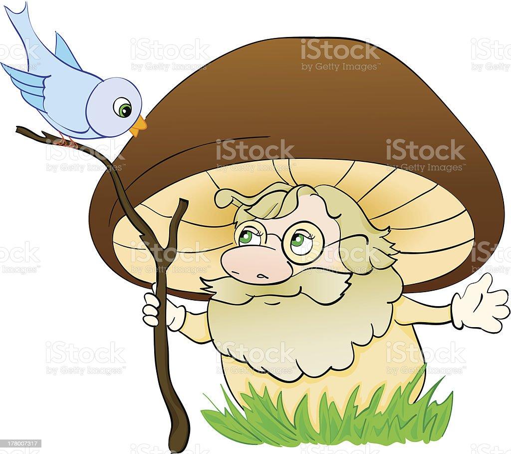 Mushroom cartoon , with isolation on a white background royalty-free mushroom cartoon with isolation on a white background stock vector art & more images of advice