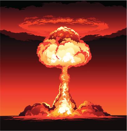 Mushroom Cloud of Nuclear Explosion