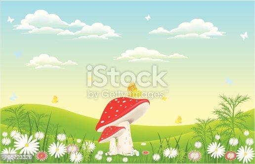 istock mushroom in nature 165723326