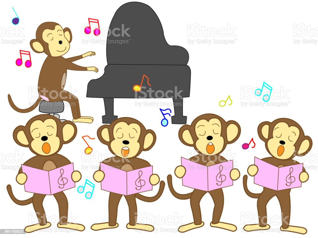 music animal royalty-free music animal stock vector art & more images of accordion - instrument
