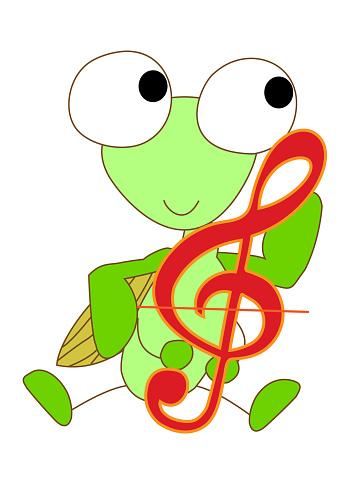 Music Animal Stock Illustration - Download Image Now