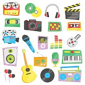 Music, audio, video devices and appliances