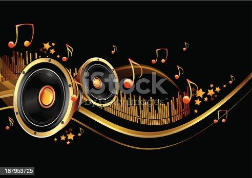 istock Music background 187953725