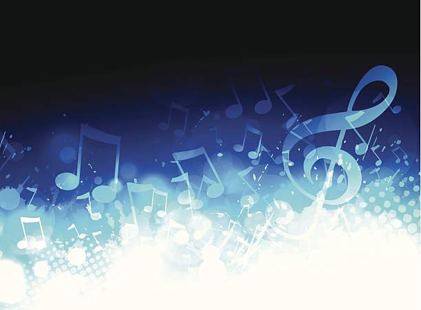 illustrations, cliparts, dessins animés et icônes de musique de fond - musique