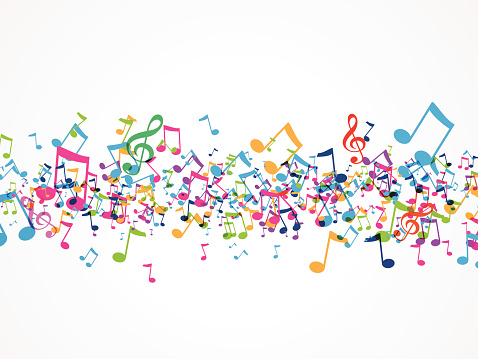 Music Background Stock Illustration - Download Image Now