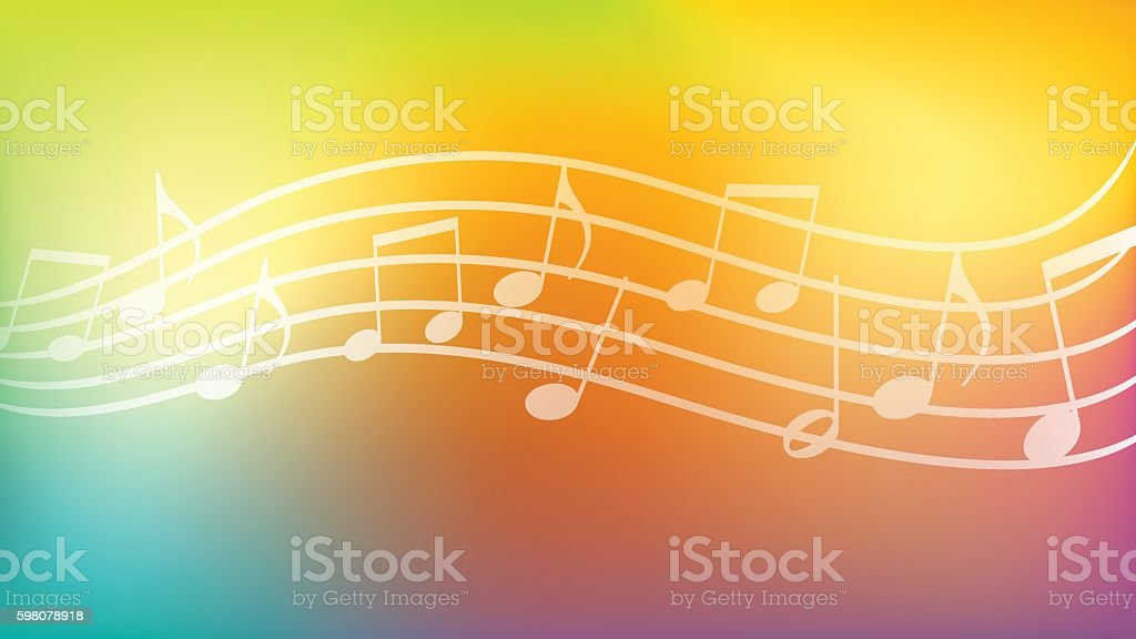 Music Background Wallpaper Abstract Backgrounds Stock Vektor