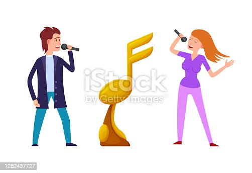 istock Music Challenge, Competition Between Singers Award 1282437727