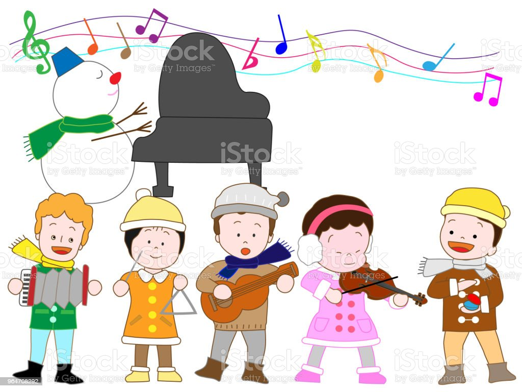 music children royalty-free music children stock vector art & more images of annual event
