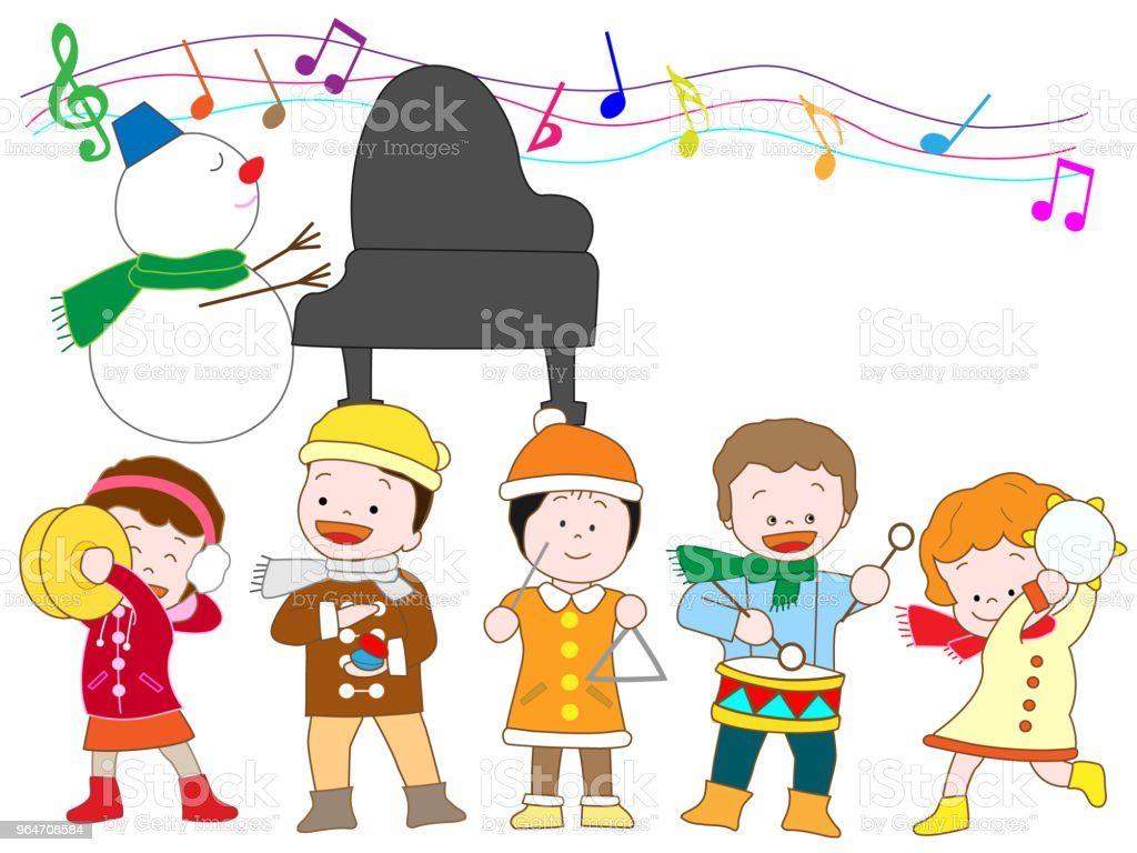 music children royalty-free music children stock illustration - download image now