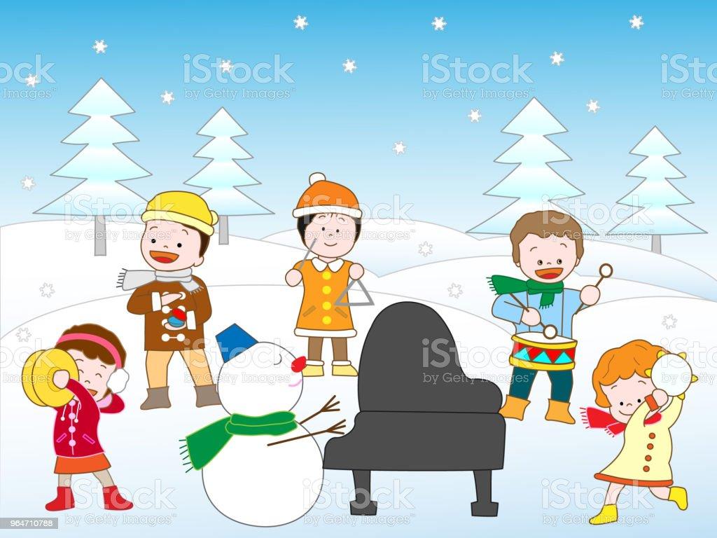 music children royalty-free music children stock illustration - download image now