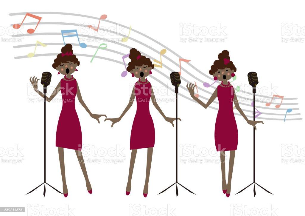 royalty free chorus girl clip art vector images illustrations rh istockphoto com chores clip art choral clip art