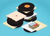 vinyl records archive -
