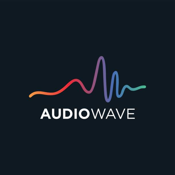 music concept audio wave, audio technology - music icons stock illustrations, clip art, cartoons, & icons