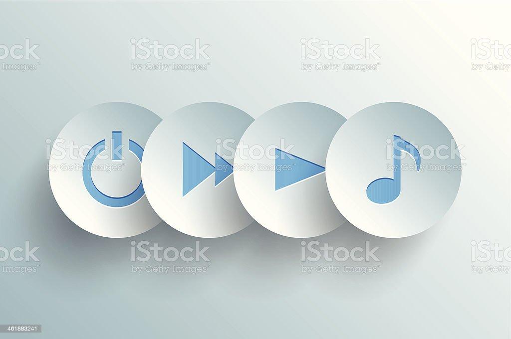 concept de musique - Illustration vectorielle