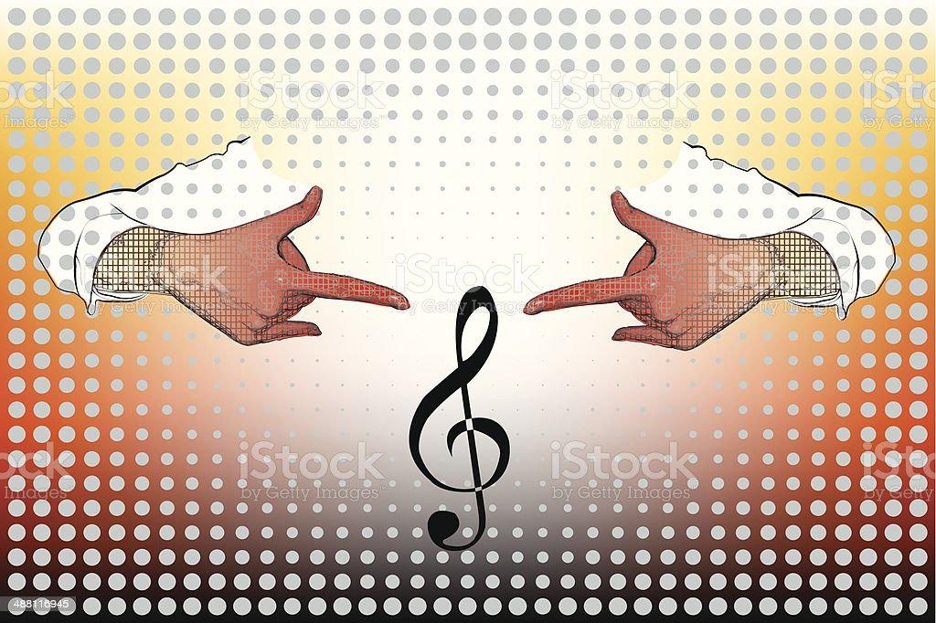 Music Concert royalty-free stock vector art