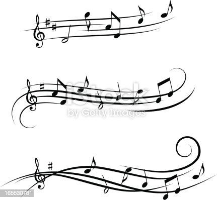 istock Music design elements 4 165530781