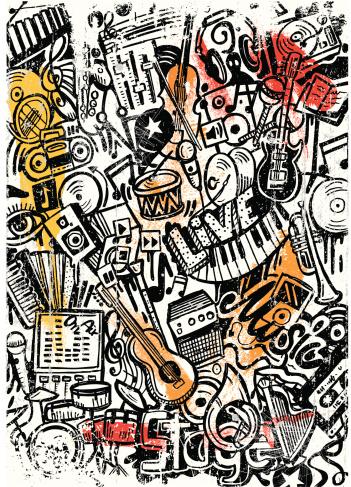 music doodle scratch