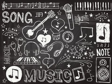 Music elements sketch