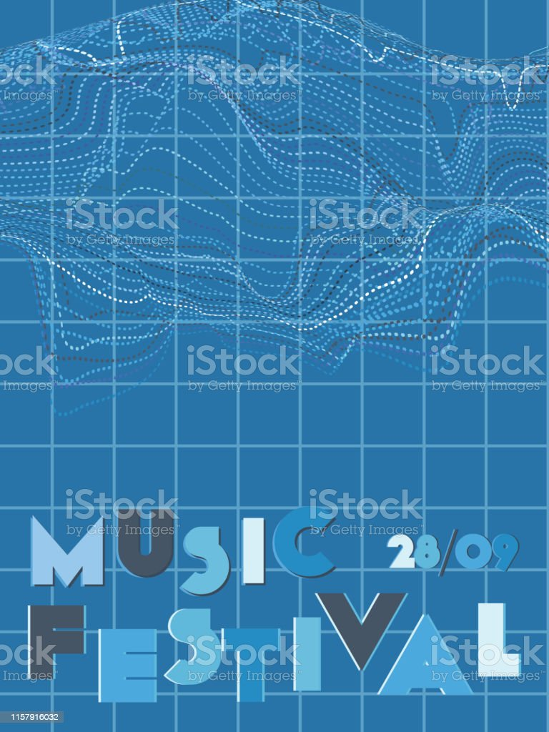 Music festival cover background. royalty-free music festival cover background stock illustration - download image now
