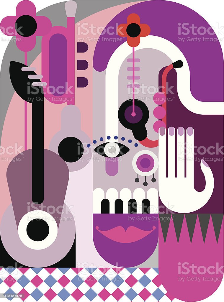 Music Festival Poster royalty-free music festival poster stock vector art & more images of abstract