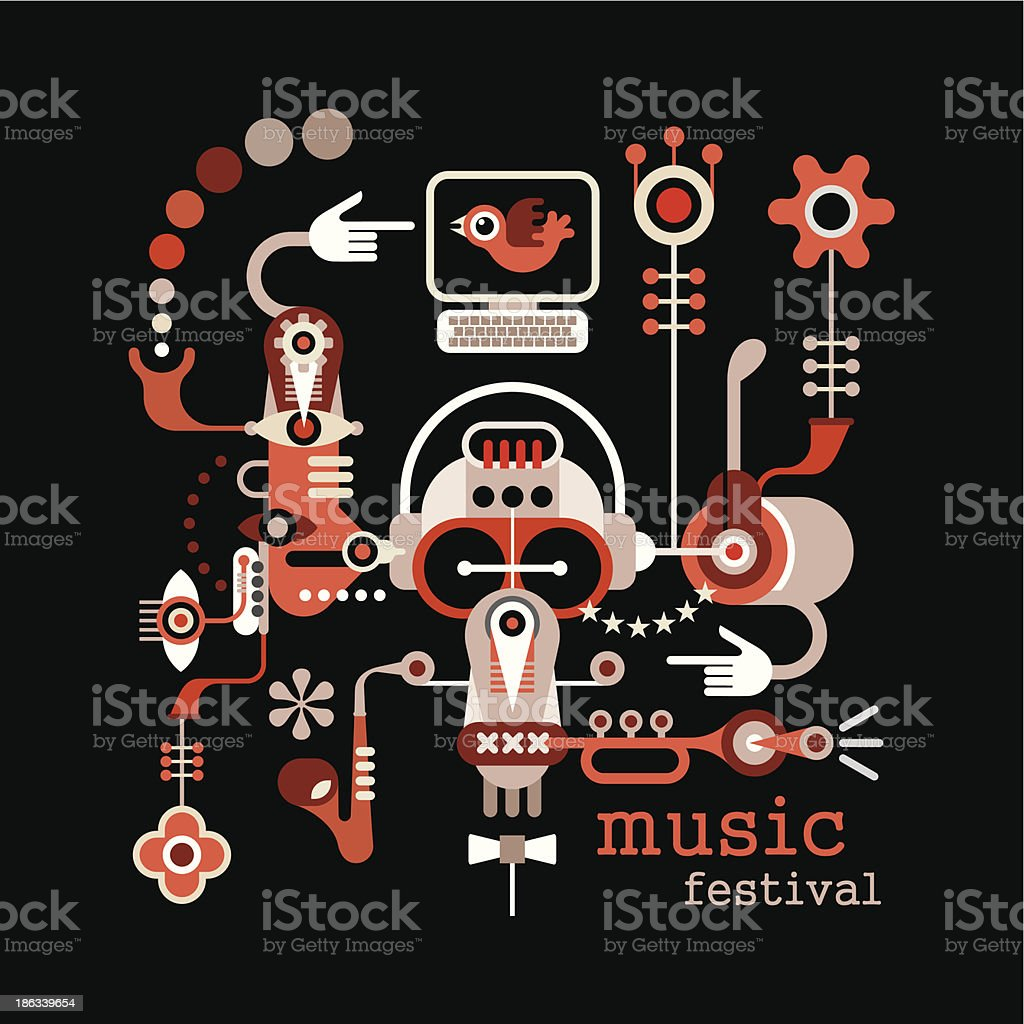 Music Festival royalty-free music festival stock vector art & more images of abstract