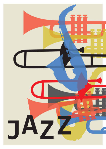 Best Jazz Music Illustrations, Royalty-Free Vector Graphics