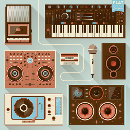 Music gadgets and instruments