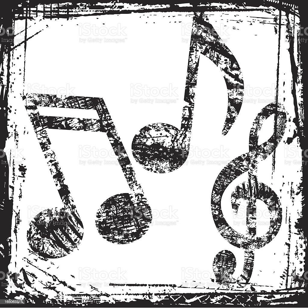 Music Grunge royalty-free stock vector art