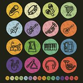 Vector File of Music Icon Set