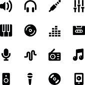 Music icons - Medium
