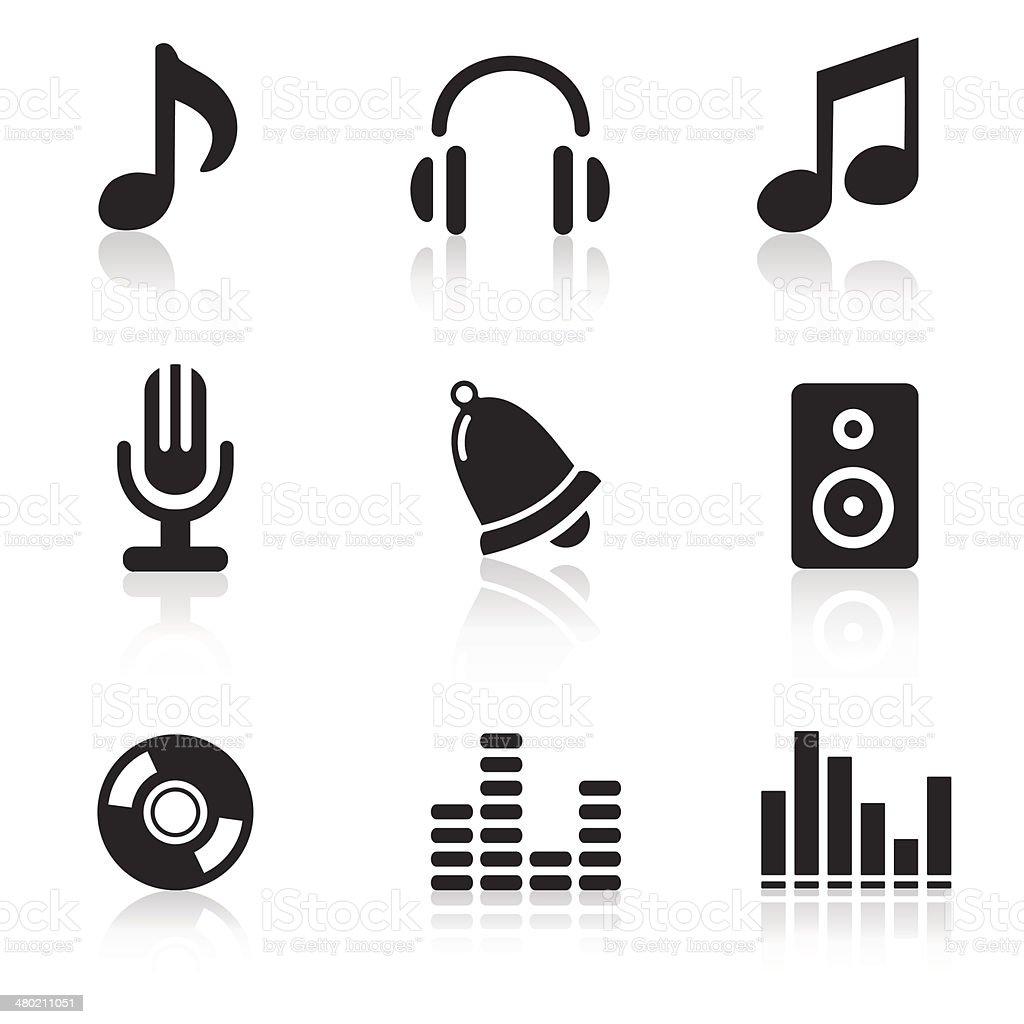 music icons simbols stock vector art  u0026 more images of