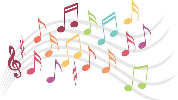 musik-illustration - musiksymbole stock-grafiken, -clipart, -cartoons und -symbole