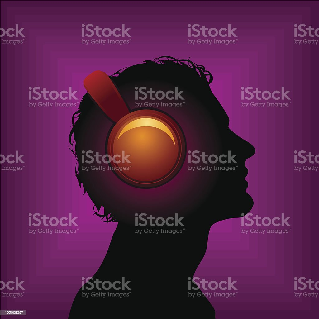Music in my head royalty-free music in my head stock vector art & more images of adult