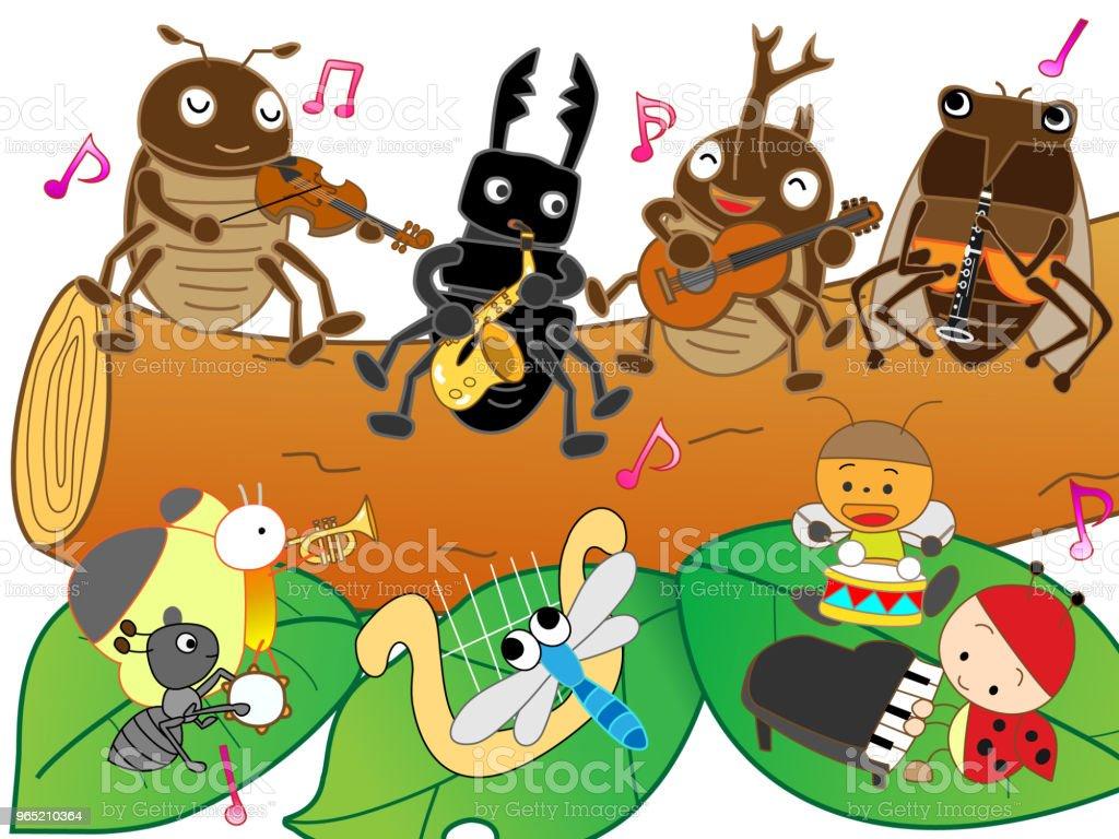 music insect music insect - stockowe grafiki wektorowe i więcej obrazów akordeon - instrument royalty-free