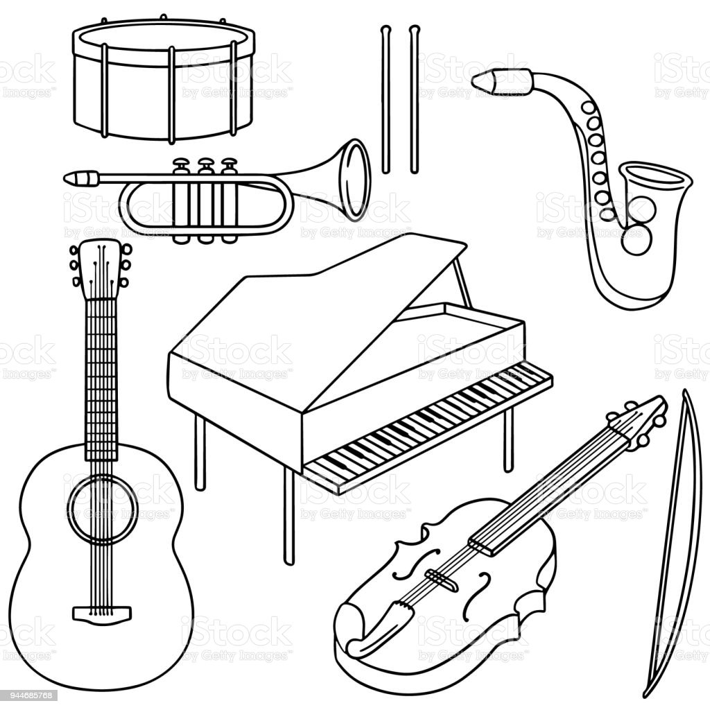 Music Instrument Stock Illustration - Download Image Now