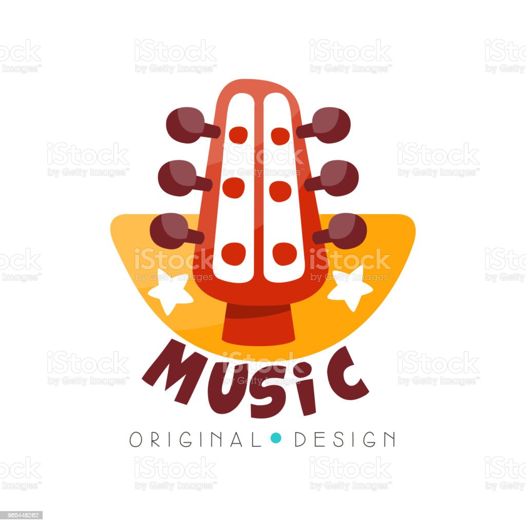 Music logo original design, music studio, shop badge vector Illustration on a white background music logo original design music studio shop badge vector illustration on a white background - stockowe grafiki wektorowe i więcej obrazów elegancja royalty-free