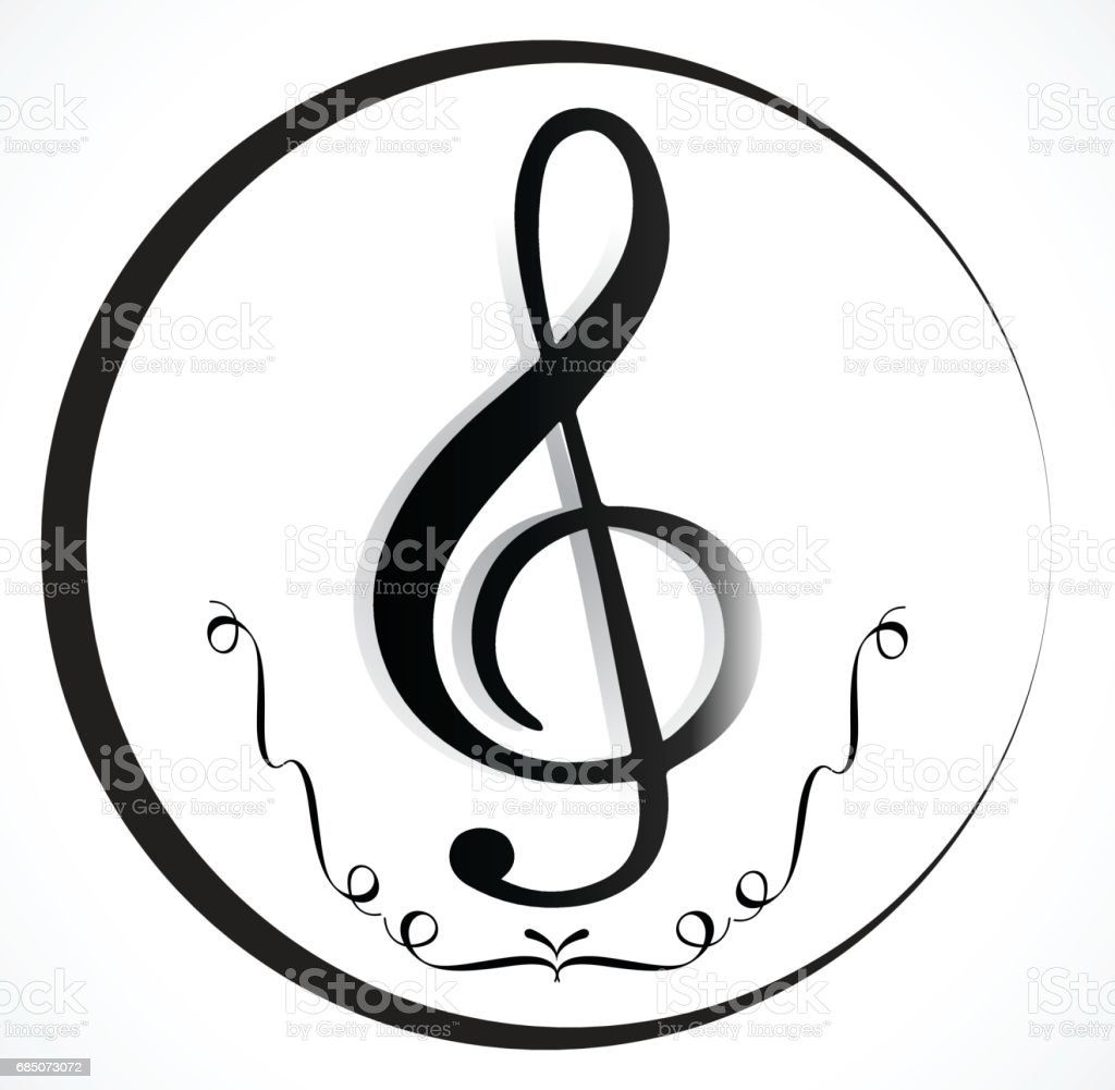 Music Note Background royalty-free music note background stock vector art & more images of abstract