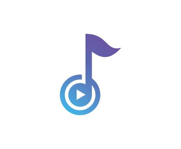 音楽注意)アイコン - 音楽のアイコン点のイラスト素材/クリップアート素材/マンガ素材/アイコン素材