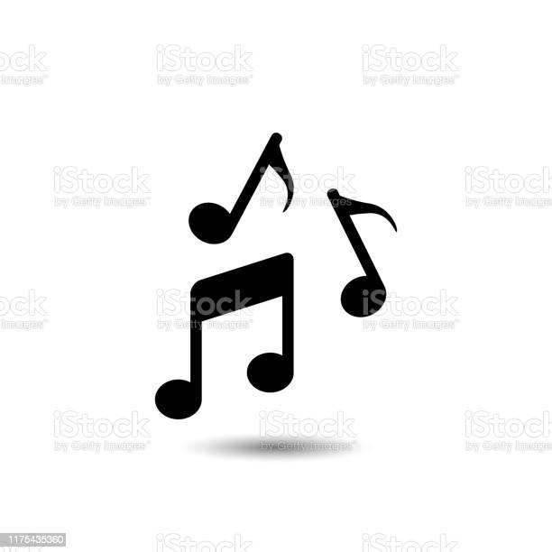 Icône De Note De Musique Illustration De Vecteur Vecteurs libres de droits et plus d'images vectorielles de A la mode