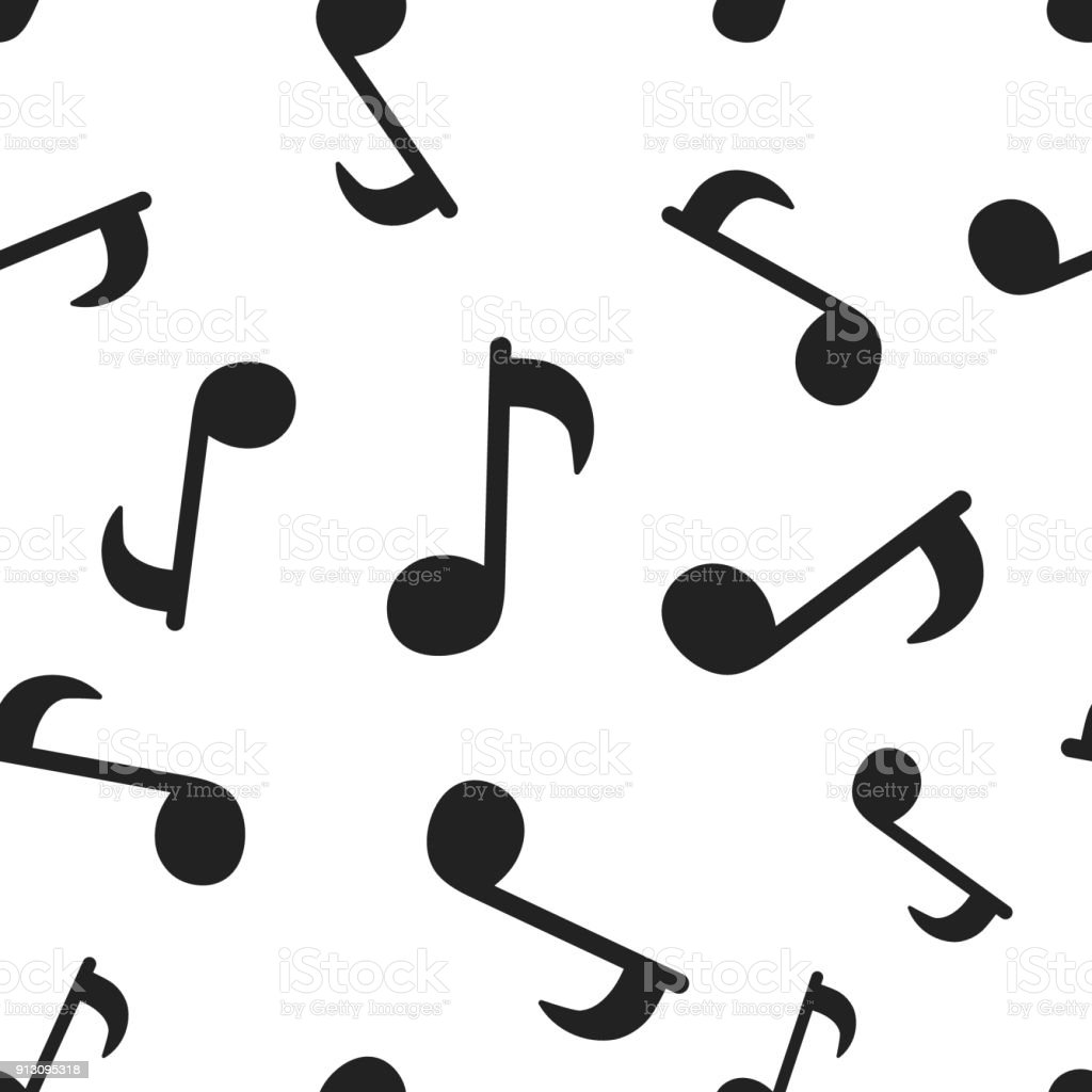 music note seamless pattern background business concept vector rh istockphoto com