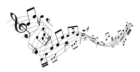 Music Note - Stockowe grafiki wektorowe i więcej obrazów Akord